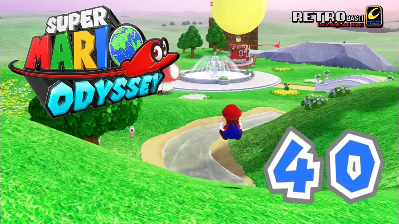 Lets Play Super Mario Odyssey German Blind 40