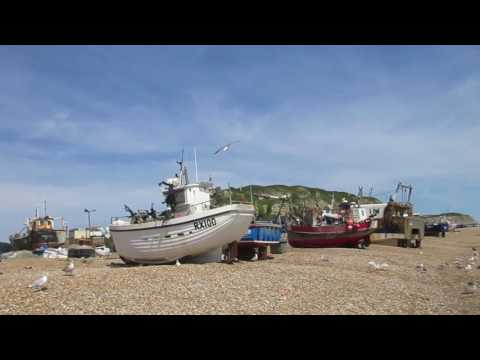 Hastings, East Sussex. UK TRAVEL VIDEO