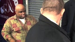 cee lo green leaving the box nightclub in central london