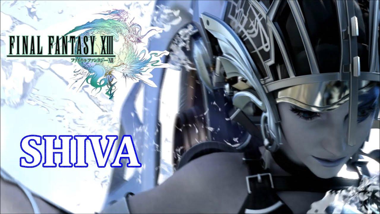 final fantasy xiii eidolon shiva sisters fmv youtube