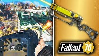 Fallout 76 Legendary Weapons System, V.A.T.S Info, CAMP Settlements More Online Updates