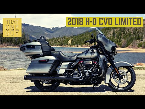 2018 Harley-Davidson CVO Limited - the final say in touring