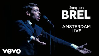 Gambar cover Jacques Brel - Amsterdam - Live
