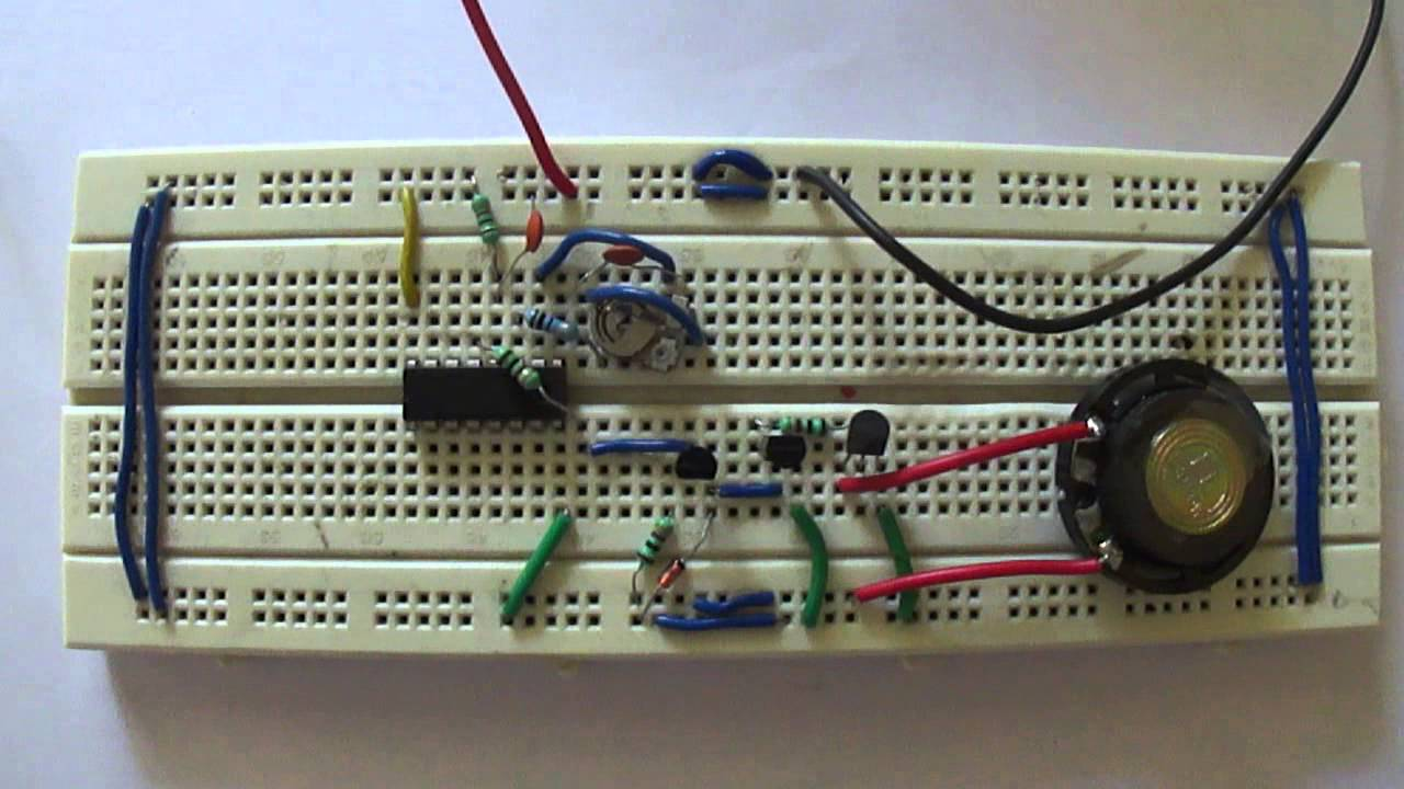 Multipurpose Timer With Musical Alarm Youtube Door Open Using 555 Circuit