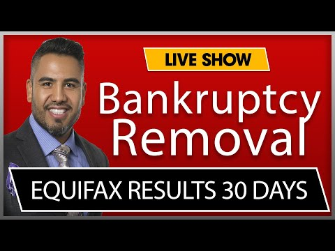 How To Remove Bankruptcy Fast, Credit Repair Results In 30 Days #gizzycredit