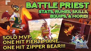 COMPLETE BATTLE PRIEST GUIDE: One Hit Mobs + MVP Build | Ragnarok Mobile Eternal Love