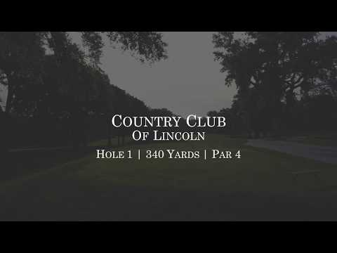 Country Club of Lincoln | Hole #1