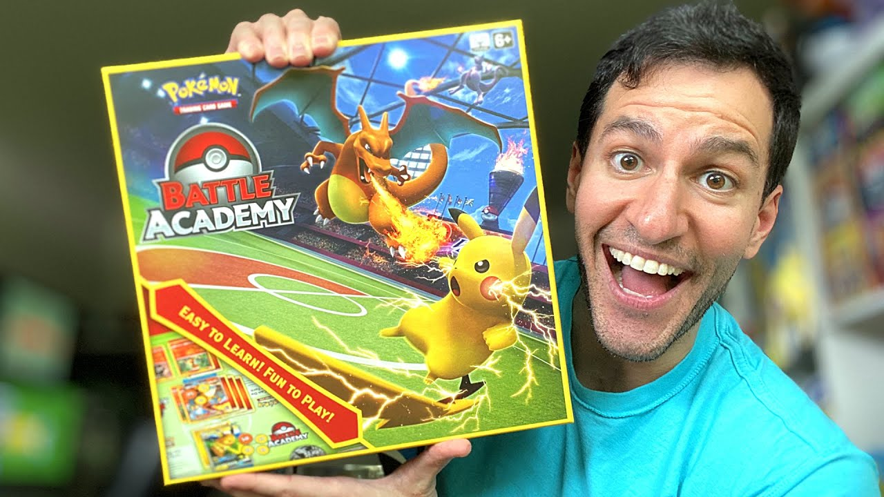 First Time In History Pokemon Cards Battle Academy Opening Youtube