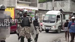 Haiti: Blood and tear gas in Port-au-Prince as tax hike protest takes a violent turn
