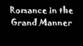 grand serenade for an awful lot of winds and percussion movement iii romance in the grand manner