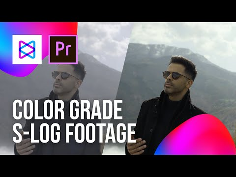 Color Grade S-Log Footage | Premiere Tutorial 2019 thumbnail