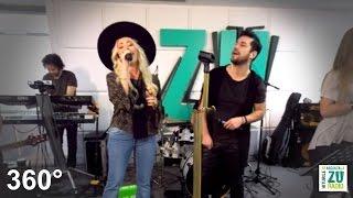 Delia & Deepcentral - Gura ta (VIDEO 360° - Live la Radio ZU)