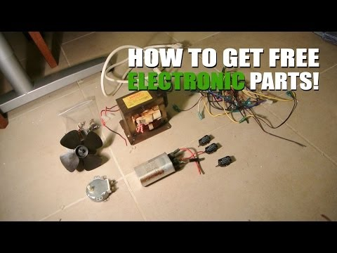 How to get FREE electronic parts for projects!