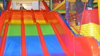 Indoor Playground Fun For Children - Diszzy Dens Bundoran - Kids Having Fun Video
