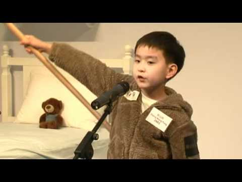 Bedtime English Story Telling Contest 2010 (K2-K3) - Valerie Kaitlyn Huang from YouTube · Duration:  1 minutes 28 seconds