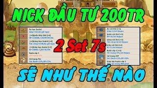 Ngọc Rồng Online - Nick Ngọc Rồng Được Đầu Tư 200 Triệu Sẽ VIP Như Thế Nào