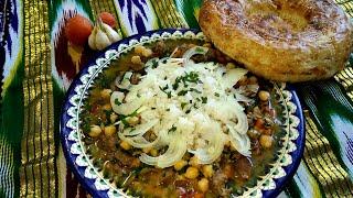 """""""МОХОРА""""суп. Узбекская кухня. Пошаговый рецепт.soup. #вкусняшки #нут"""