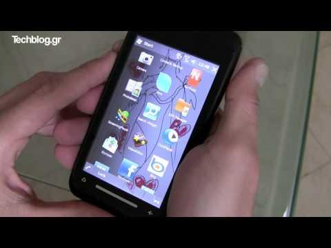 Toshiba TG01 WM 6.5 hands on (Greek)