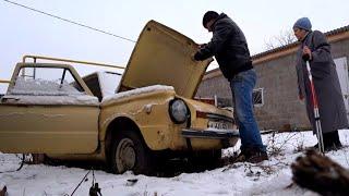 Оживим ЗАЗ?  Брошенный ЗАЗ- 968  Стоит 10 лет в деревне. 1ч. restoration car /recovery  реставрация