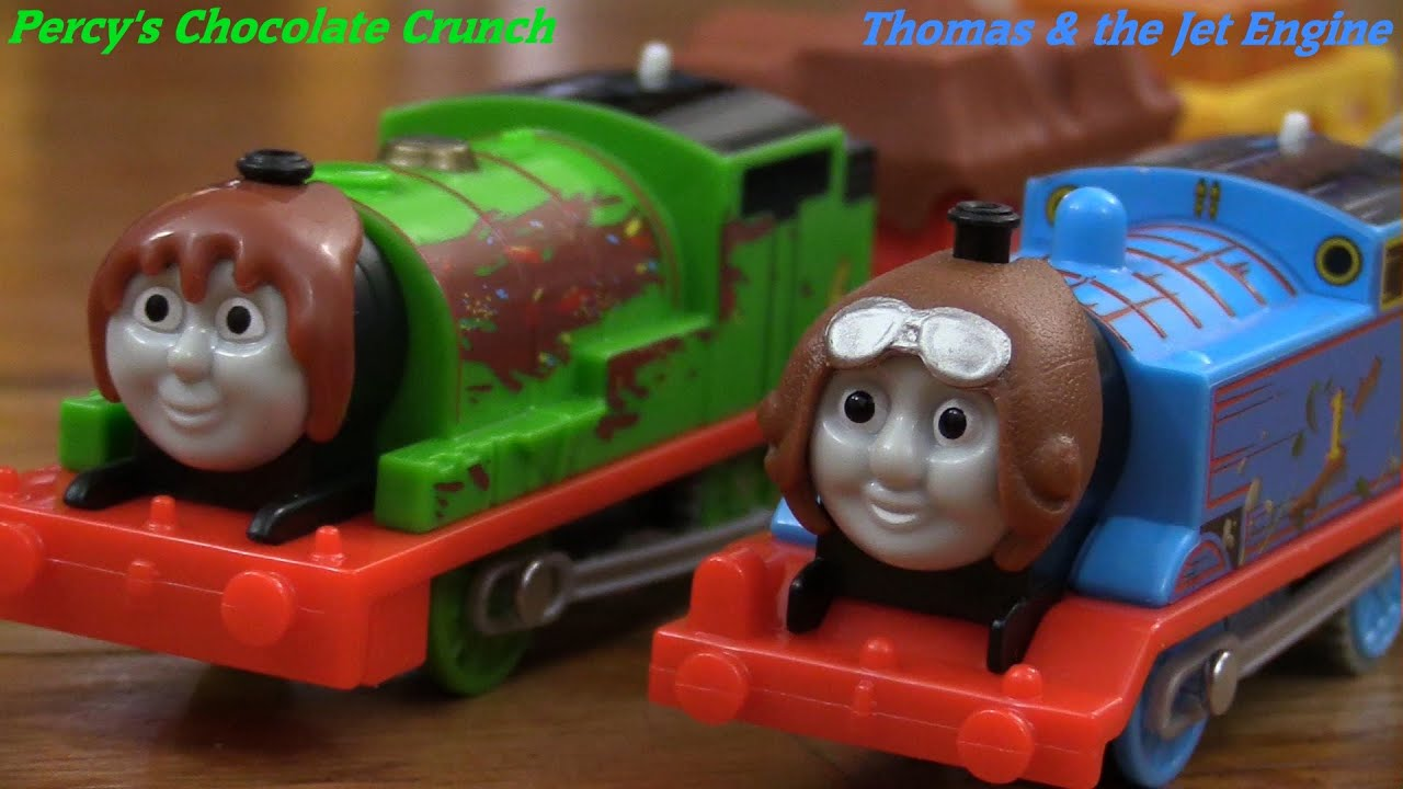 Percy S Chocolate Crunch Trackmaster