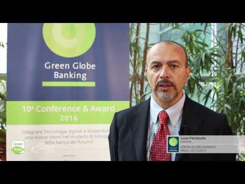 Intervista a Luca Ferraiuolo | X Edizione Green Globe Banking Conference & Award