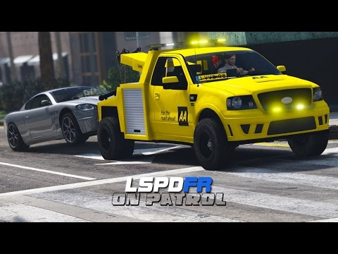 LSPDFR - Day 357 - Ford Tow Truck (Live Stream)