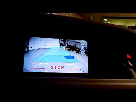Retrocamera post montaggio su Audi A4