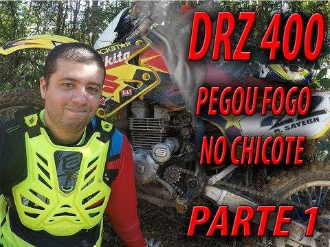 TRILHA DE MOTO QUE A DRZ DO BUSSUNDA PEGOU FOGO - PARTE 1 - GOPRO HERO 5 1080P