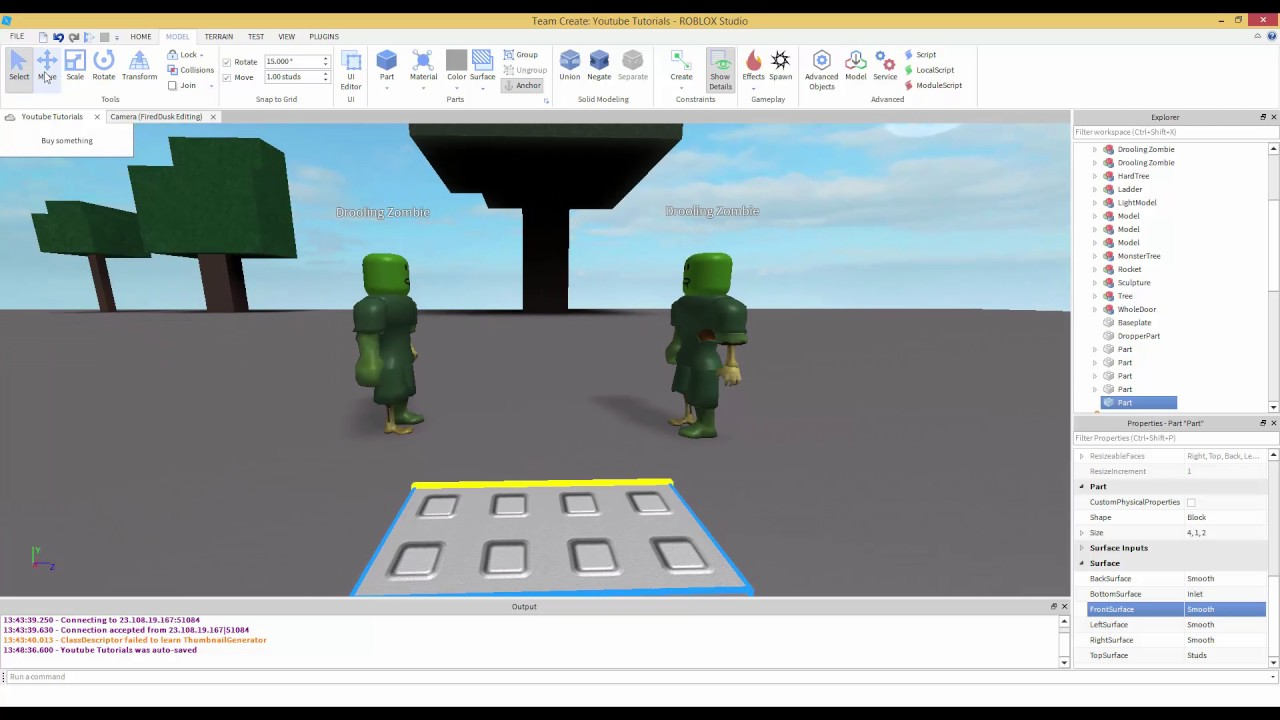 Camera Manipulation Part 1 Roblox Scripting Tutorial - roblox studio help youtube
