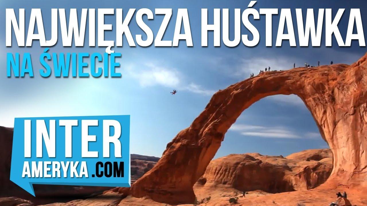 NAJWIĘKSZA Huśtawka Świata – 42m łuk skalny