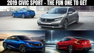 2019 Honda Civic Sport   Sedan & Coupe Finally Get The Refresh They Needed