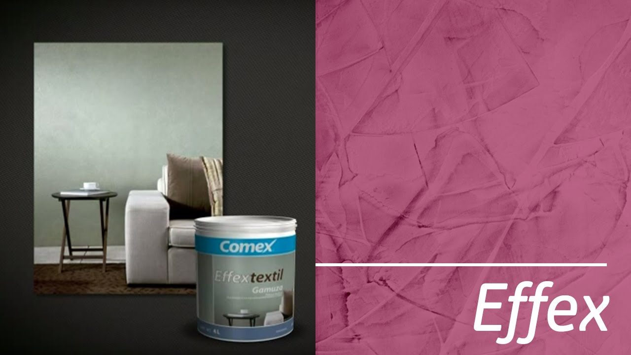 Effex textil gamuza for Pintura color marmol