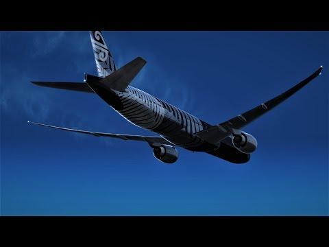 [P3D][V4.1] London to Los Angeles PMDG777-300ER Arrival into LAX