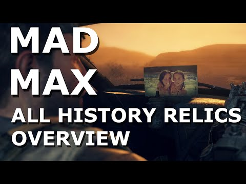 Mad Max - All History Relics Showcase Overview