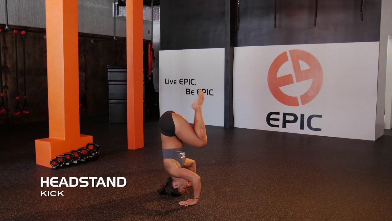 Headstand Kip Up