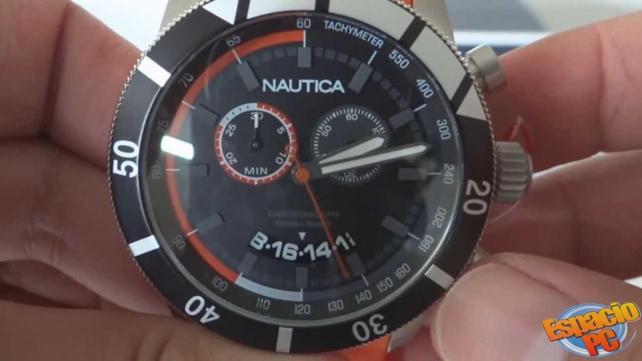 6f0012e6ea55 Nautica N17586G - Reloj Hombre - YouTube
