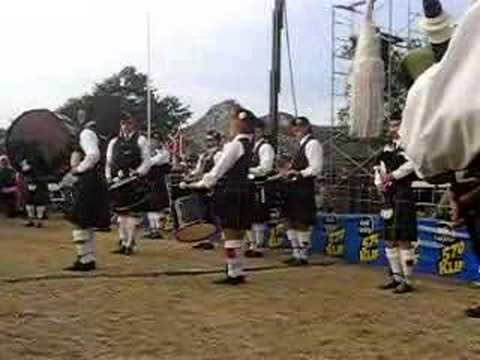 Amazing Grace on Bagpipes
