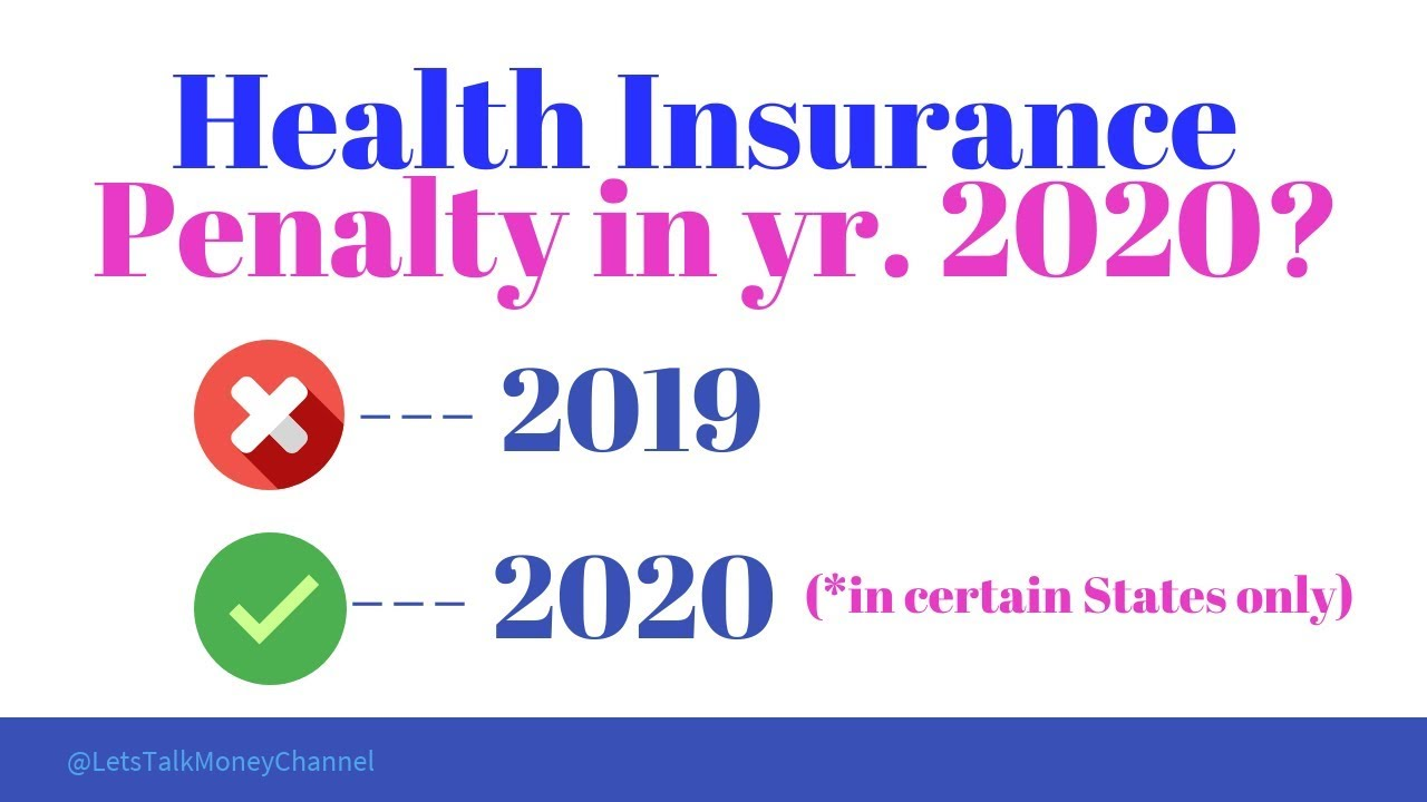 Health Insurance Penalty was it repealed or not? In what ...