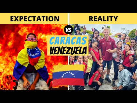 Inside VENEZUELA? (Expectation VS Reality) | CARACAS |