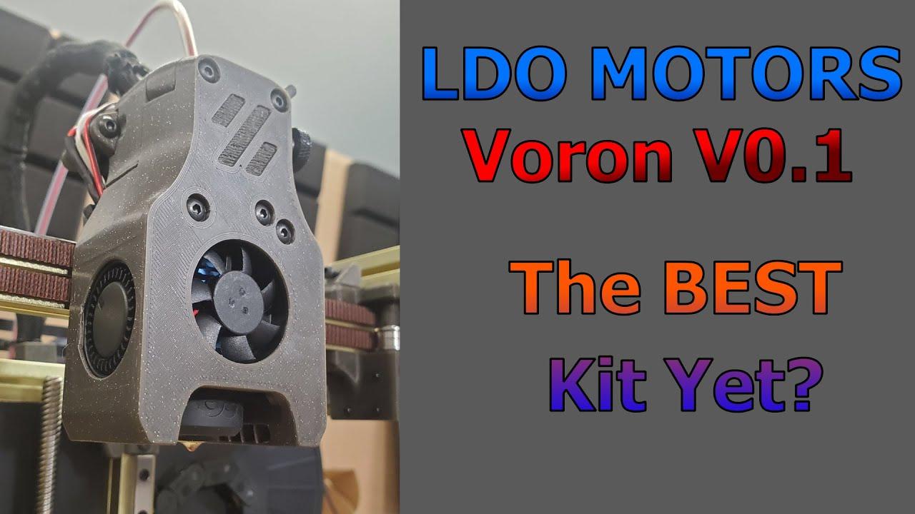 Voron V0.1 - LDO Motors Kit - Taking a look at the Printer, Build, and Kit