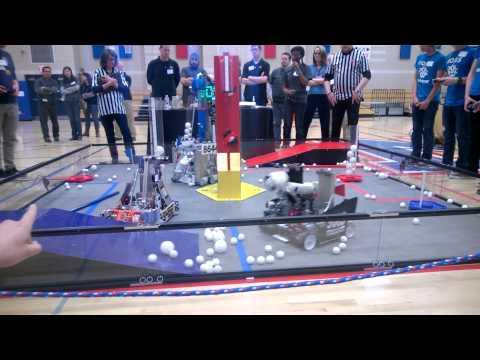 Massachusetts FIRST Tech Challenge Final Match