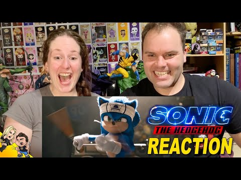 Sonic The Hedgehog New Official Trailer REACTION