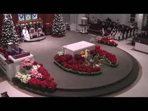 December 23, 2018 Fourth Sunday of Advent, Fr  Edward Healey