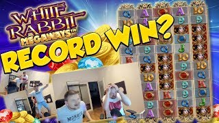 RECORD WIN!!! White Rabbit Big win - Casino Games - Huge Win - (MUST SEE)