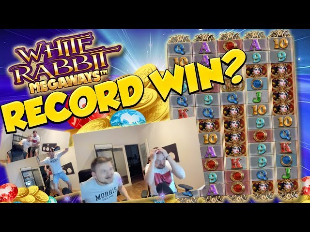 RECORD WIN!!! White Rabbit Big win - Casino Games - Huge Win - (MUST SEE)