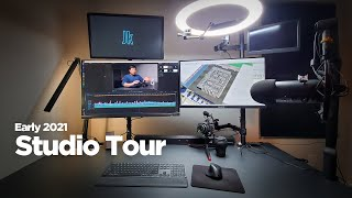 Early 2021, Architecture and Video Production Studio / Home Office Tour