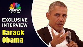 Barack Obama Interview With Karan Thapar | HT Leadership Summit | CNBC TV18
