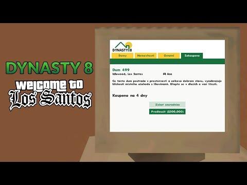WTLS Updaty #01 | SA-MP - Dynasty 8 z GTA 5 - Prodloužení domu za herní peníze!