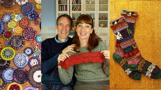 Dorset Buttons & Peruvian Knitting - Ep. 65 - Fruity Knitting