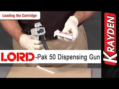 LORD-Pak 50 ml Cartridge Manual Dispensing Gun: Instructional Video